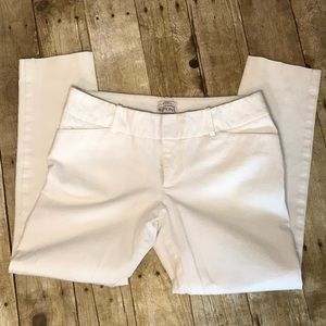 White Skinny Stretch Pants